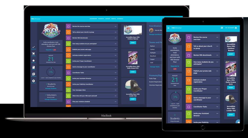 VBS Digital Tools